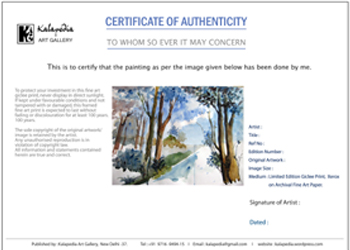 Certificate of authenticity yelopaper Choice Image